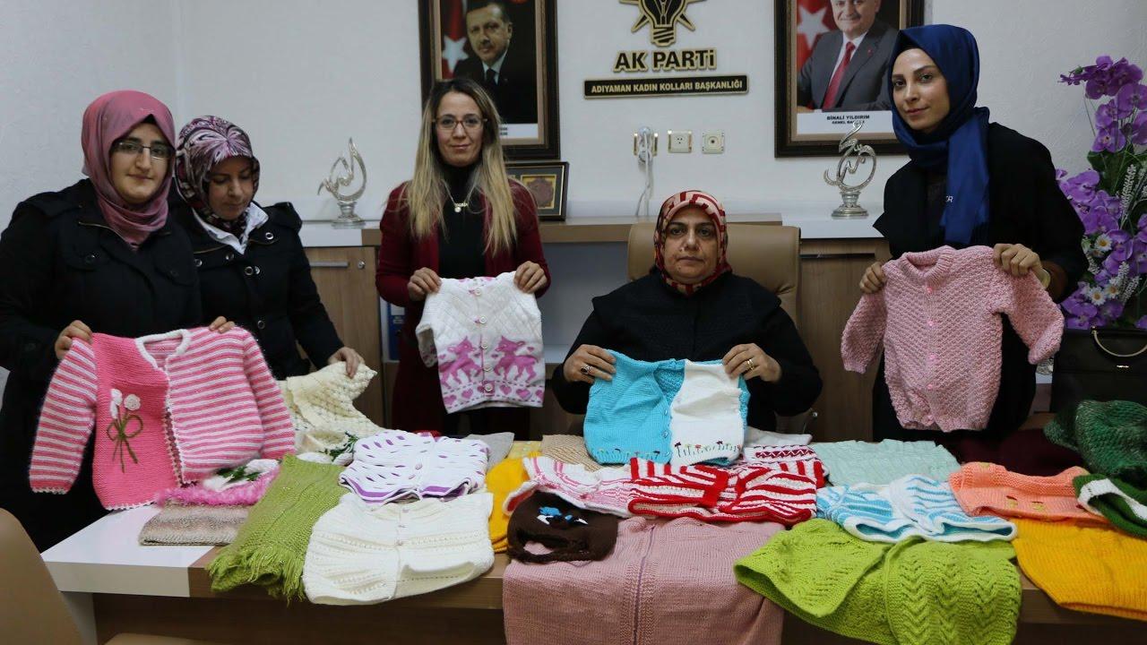 Ak Partili Kadınlar Elişini Halepli Çocuklar İçin İşlediler