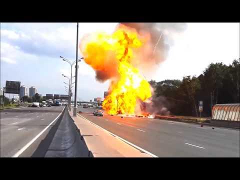 Explosion Bottles Gas LPG