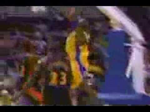 Kobe Bryant post - Shaq highlight compilation 2004 - 05