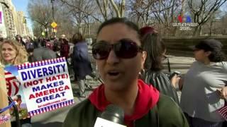 ԱՄՆ ի Նախագահական տոնի օրը` ցույցեր ընդդեմ նախագահի