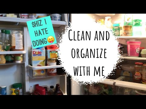 Clean & Organize with me! // Little Organizing Projects // Clean my Fridge with me // Fridge Tour