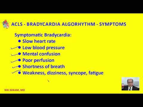 ACLS BRADYCARDIA ALGORITHM BY NIK NIKAM MD