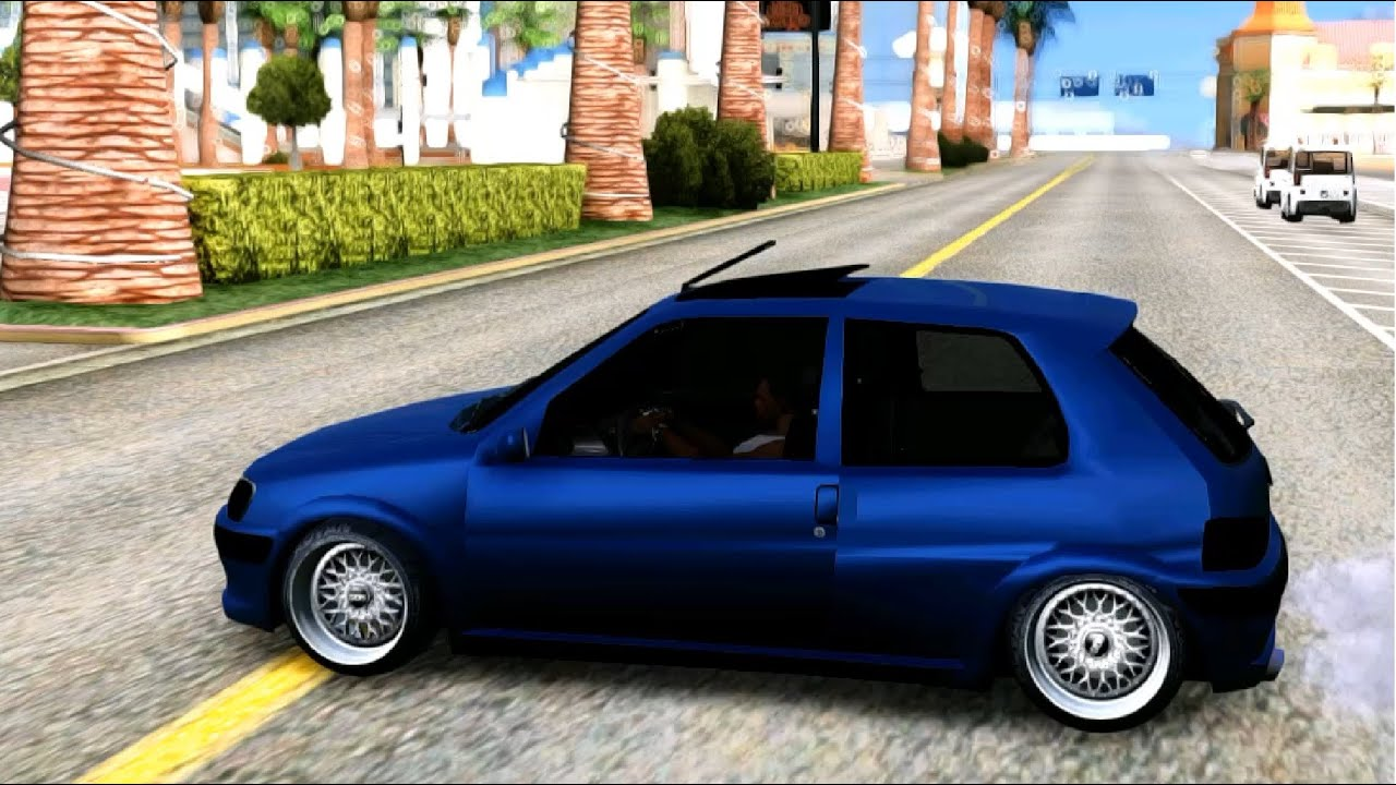 gta san andreas peugeot 106 gti baatilrhyme tuning. Black Bedroom Furniture Sets. Home Design Ideas