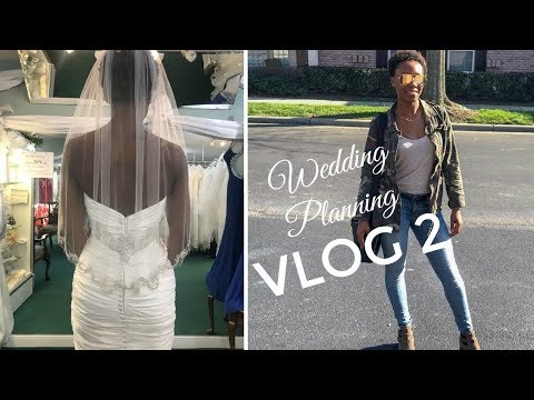 Wedding Planning Vlog 2! | Venue booking, dress shopping, and health/fitness