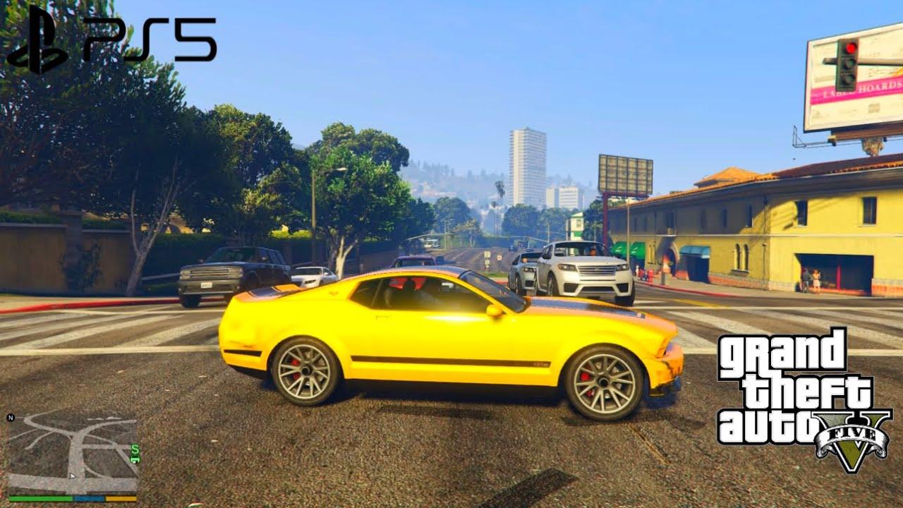 (PS5) GTA 5 Gameplay | Ultra Realistic Graphics amazing Gta 5 [4K HDR 60fps]
