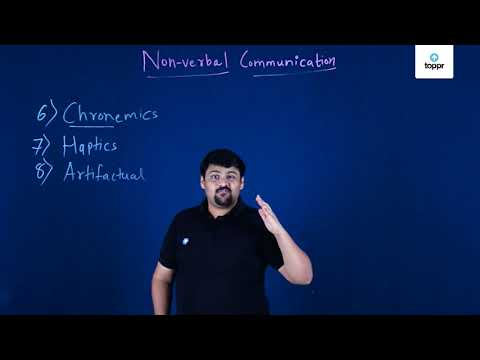 Non Verbal Communication Part 2 In English Business Studies Video Lectures It researches human's reactions to temporal limits, as well as laws of time estimate and distribution by men of different types. toppr