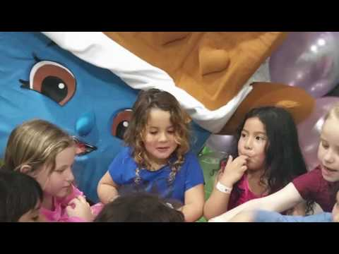 Shopkins Party - Birthday Party- mascot costume cheeky chocolate