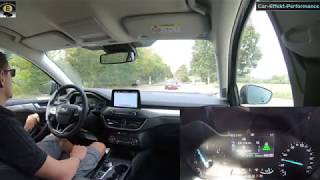 Ford Focus 2018 Assistenzsysteme Test/Review, Autonomes Fahren, Spur, Abstand, Verkehrszeichen