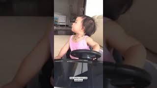 Nastusha abis makan langsung minta naik mobil