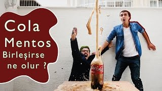 Cola ile Mentos Birleşince Ne Olur? - Poha Diyorum B.1
