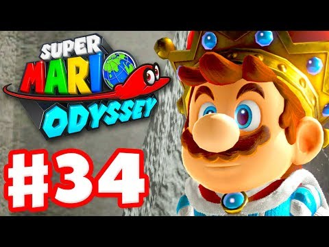 Super Mario Odyssey - Gameplay Walkthrough Part 34 - Dark Side 100% Nintendo Switch