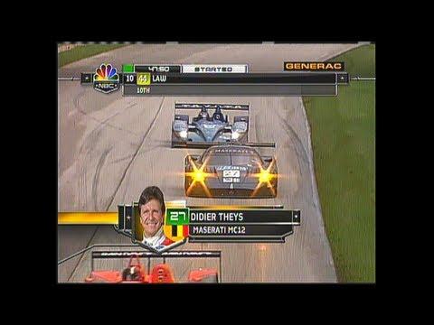 2007 Road America Race Broadcast - ALMS - Tequila Patron - ESPN - Sports Cars - Racing - USCR
