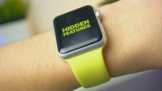 5 APPLE WATCH HIDDEN FEATURES (2018)