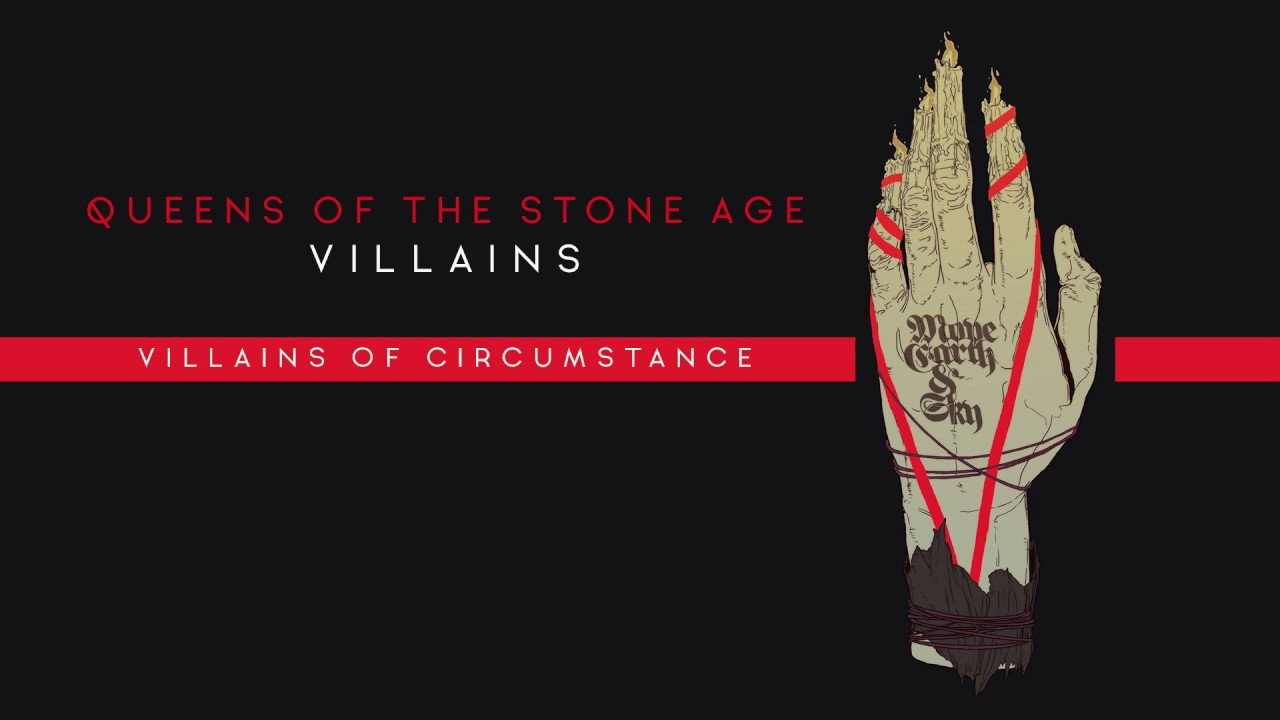 Queens Of The Stone Age Villains Of Circumstance Audio Youtube