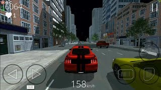 "City Racer 2019 ""Rain"" Traffic Racing Car Simulator - Android Gameplay FHD #2"