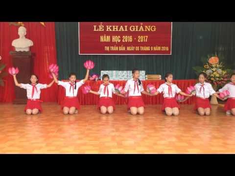 PHÚT SINH HOẠT TRUYỀN THỐNG THCS TT BẦN YÊN NHÂN KG 2016 2017
