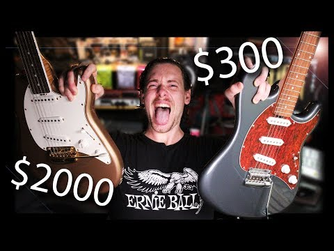 $300 Vs $2000 Guitar | Cheap Vs Expensive | Sterling Music Man Cutlass
