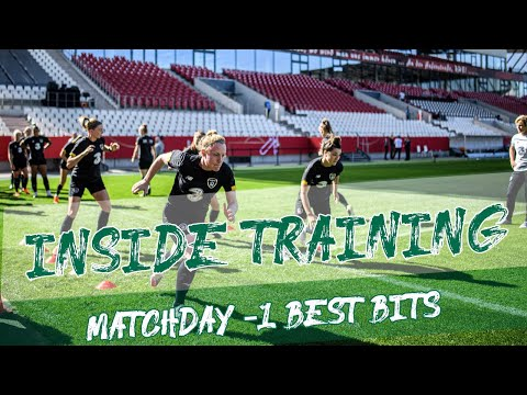 INSIDE TRAINING | #IRLWNT train at Stadion Essen