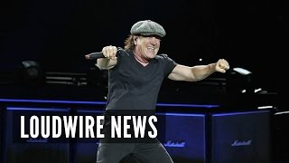 AC/DC Legend Brian Johnson Back Onstage in a Big Way!