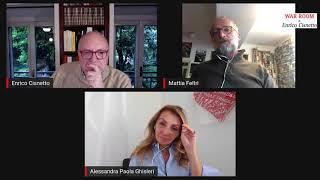 WAR ROOM di Enrico Cisnetto con Mattia Feltri e Alessandra Ghisleri