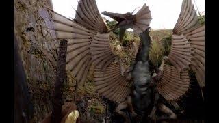 Merlin battles the Great Dragon