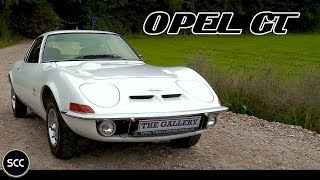 OPEL GT Automatic 1969 - Full test drive in top gear - Engine sound | SCC TV