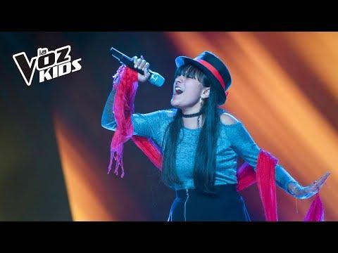 Lali canta Girl of Fire - Audiciones a ciegas | La Voz Kids Colombia 2018