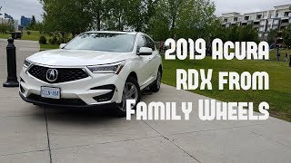 2019 Acura RDX review from Family Wheels