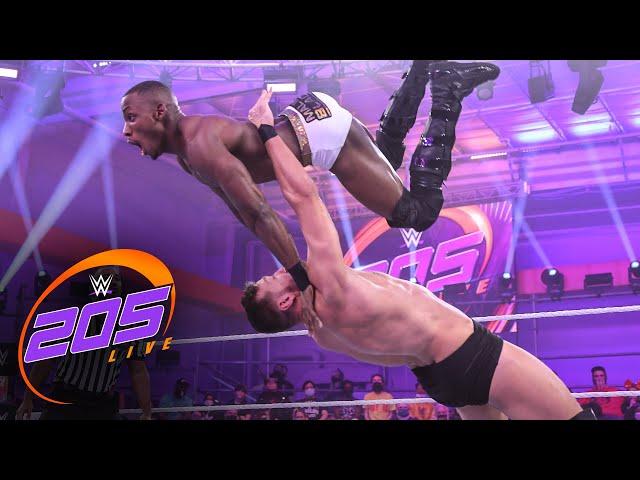 Malik Blade vs. Duke Hudson: WWE 205 Live, Oct 22, 2021