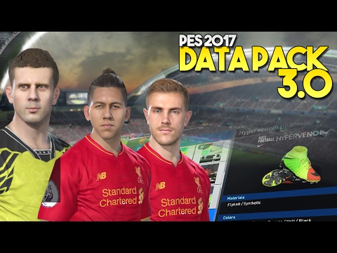 [TTB] PES 2017 - Data Pack 3.0 Additions - Faces, Boots, Classic Kits & More!