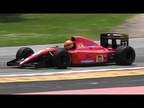 1991 Ferrari 643 F1 Car Ex Prost - Formula 1 V12 Engine Melody