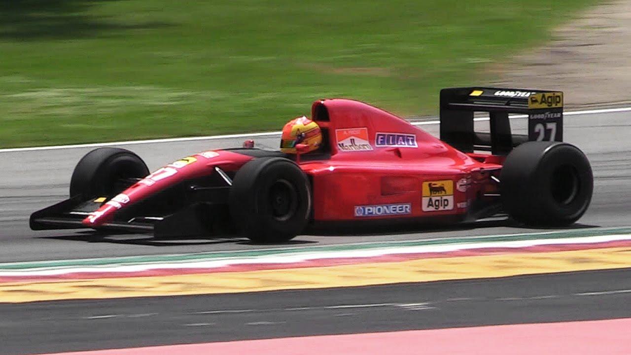 1991 Ferrari 643 F1 Car Ex Prost - Formula 1 V12 Engine Melody ...