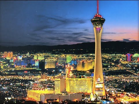 Stratosphere hotel. Las Vegas. At the top