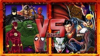 Comic Book Rap Battles: Legendary Verses Season 1