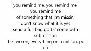 Kid Ink - Dolo ft. R Kelly (Lyrics)