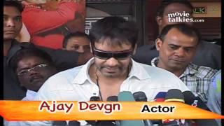 Ajay Devgn Promote his film London Dreams