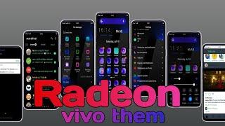 Radeon Theme for All ViVO Phones (Dark Theme) || By Arun Official ||