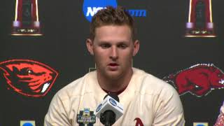 Arkansas Post Game Presser After 5-3 loss to Oregon State in CWS Gm 2