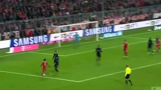 Thiago alcantara Bayern München - goals and skills