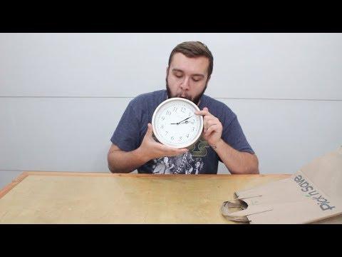 Curtis Leszczynski Eating a Clock