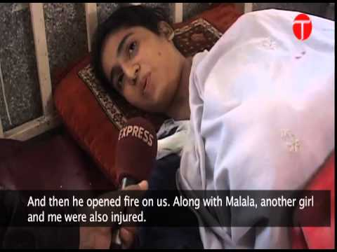Shot by the Taliban, Malala Yousafzai struggles for life