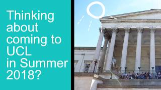 What happens at the UCL Summer School? thumbnail