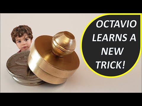 Octavio Watch A Trick - Magic Shrinking Nickels From Magic Makers