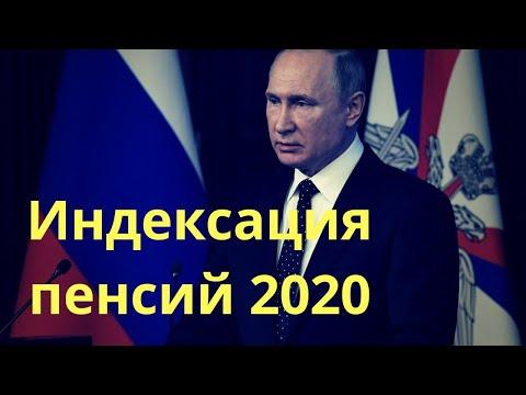 Индексация пенсий в России 2020