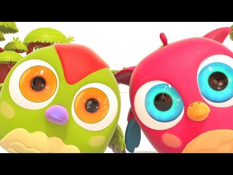 Развивающие мультики Совенок Хоп Хоп - Детская песня быстро-медленно