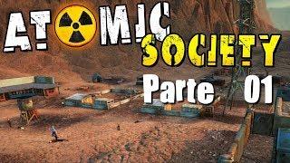 Atomic Society Ep1 NUEVO CITYBUILDER Nuevo juego de construccion de ciudades  Gameplay Español