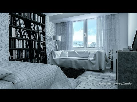 3ds max, Vray 3.60.03, modeling, rendering, interior workshop (white room)