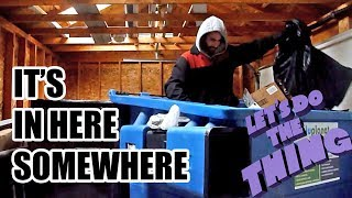 Dumpster Diving / Trash Picking for Bottles & Cans - Just Another Day of Treasures + Sidequests