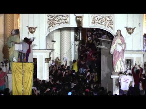 Nazareno 2016: Black Nazarene enters Quiapo Church