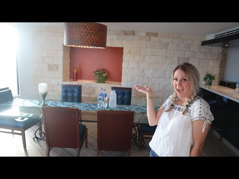 5000 sq foot HOTEL ROOM TOUR!!  Hard Rock Hotel Riviera Maya Presidential Rock Suite Platinum